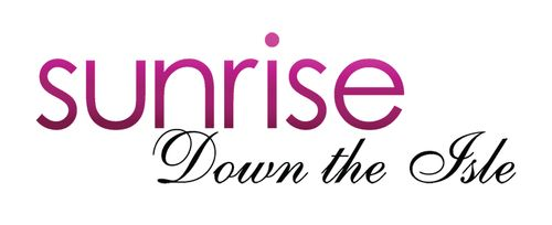 Sunrise Down the Isle Logo - Dark